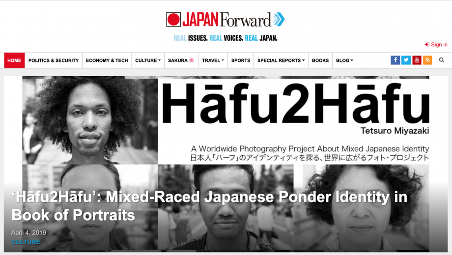 "Japan Forward: ""Mixed-Raced Japanese Ponder Identity in Book of Portraits"""