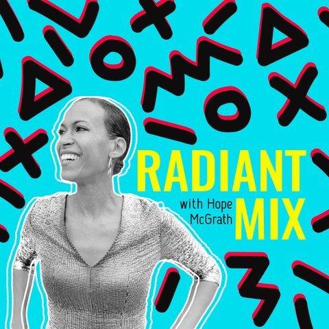 Hāfu2Hāfu on Radiant Mix podcast with Hope McGrath